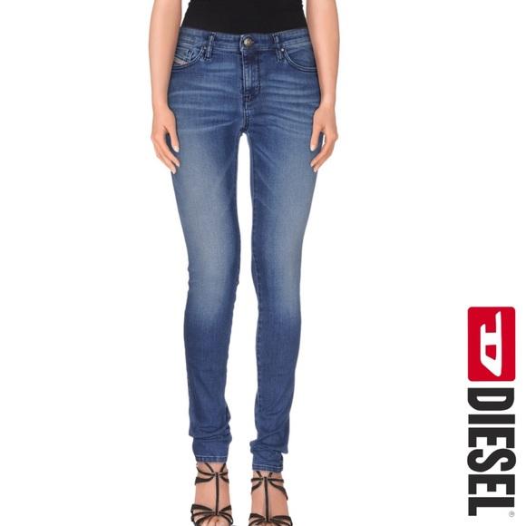 Diesel Denim - Diesel Matic Medium Wash Slim Skinny Leg Jeans